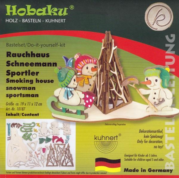 Bastelset - Rauchhaus Schneemannsportler 10187