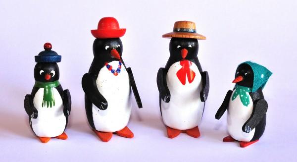 Pinguinfamilie 4-teilig