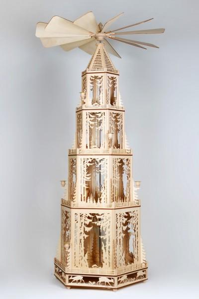 Pyramidenvorlage - Motiv 1185 Große Waldpyramide