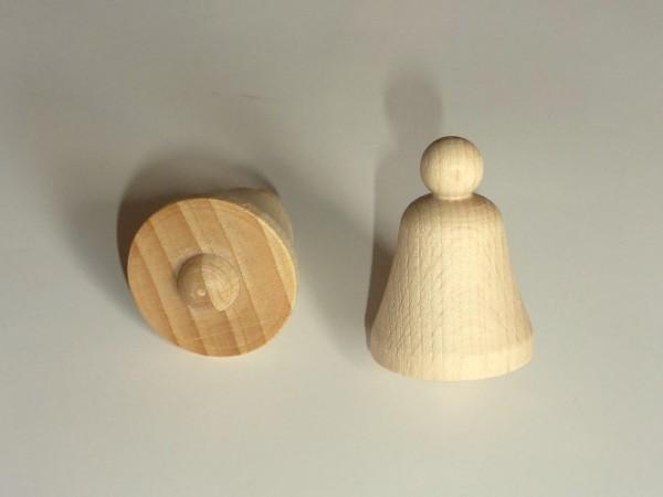 Glocke aus Buchenholz