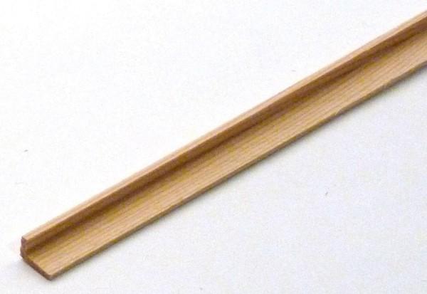 Winkelleiste/ Eckleiste aus Kiefernholz 10x6mm