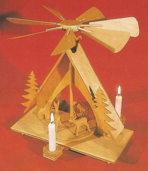 Vorlage Pyramide - Motiv Waldhaus S09