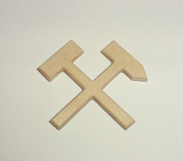 Bergbauwappen - Hammer und Schlegel