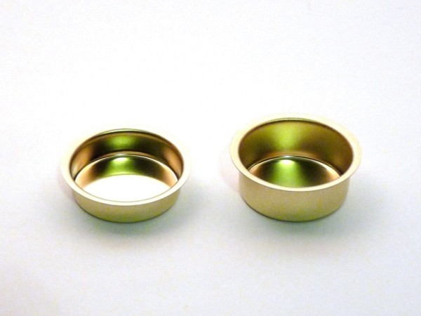 Lichtertüllen-Blecheinsätze für Teelichter