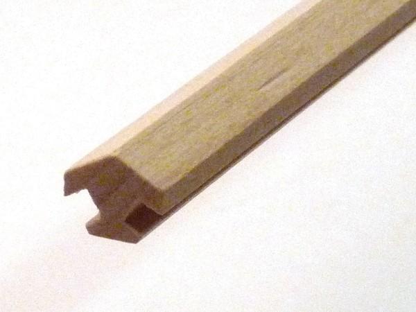 Nutleiste für 6 Ecken aus Buchenholz
