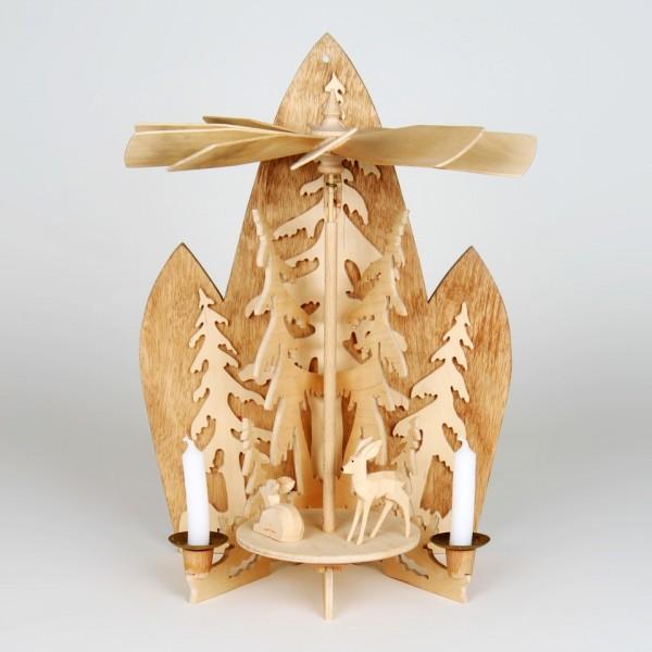 Pyramidenvorlage - Erzgebirgische Wandpyramide