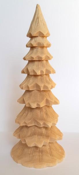großer geschnitzter Baum - 20cm