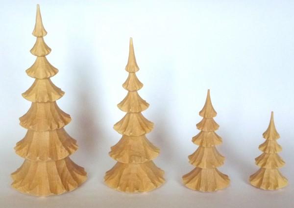 Geschnitzer Baum aus Lindenholz