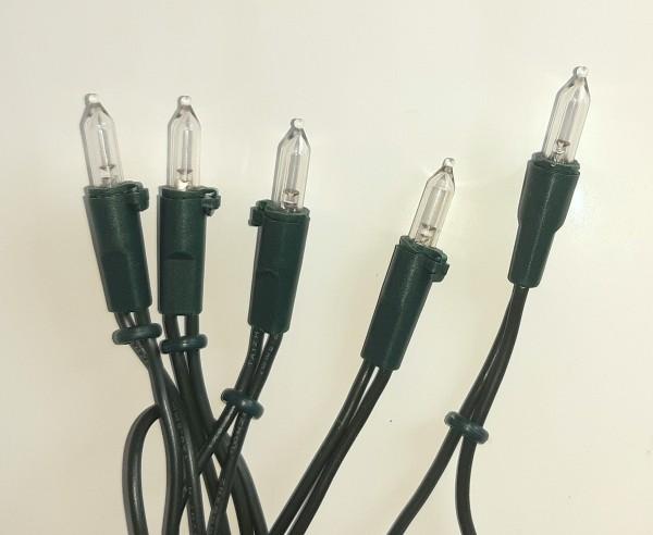 LED-Minilichterkette, Birnenabstand 15 cm
