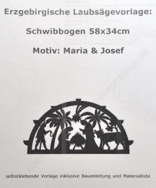 Vorlage Schwibbogen - Christliches Motiv