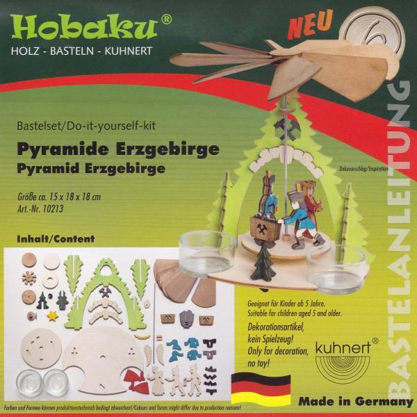 Bastelset - Pyramide Erzgebirge 10213
