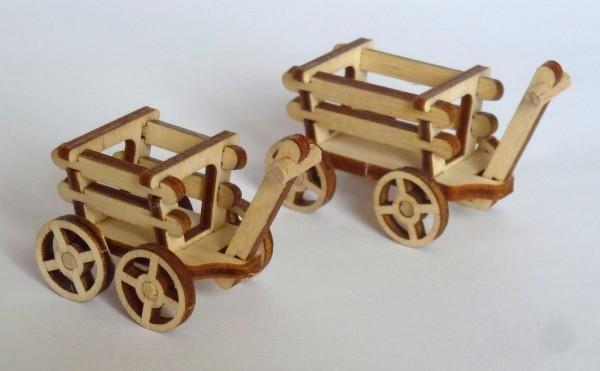Handwagen aus Sperrholz