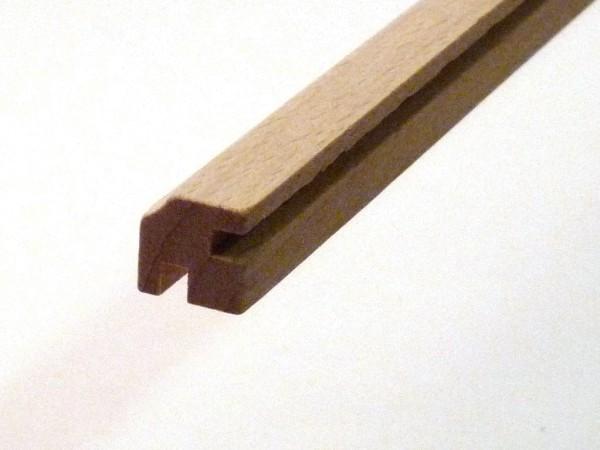 Nutleiste für 4 Ecken aus Buchenholz