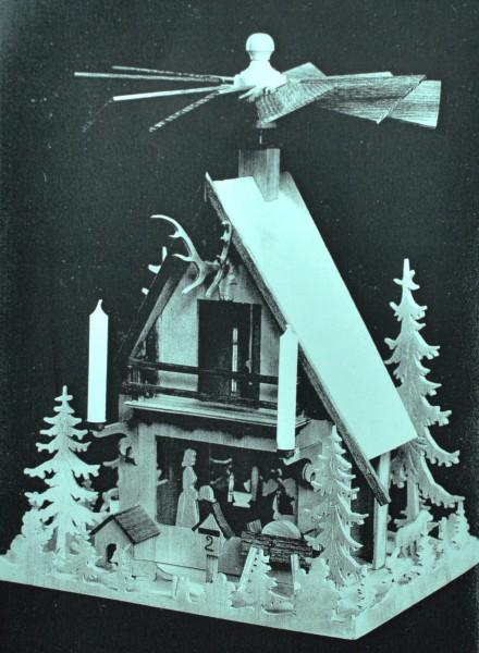Vorlage Pyramide - Motiv 508 Waldhauspyramide