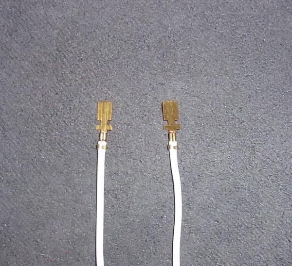 Litze-Kabel mit 2x angeklemmten Kabelschuh