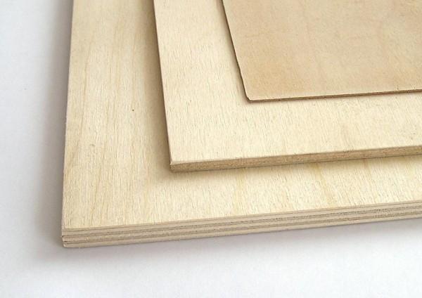Birkesperrholz 500x500mm