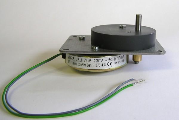 Pyramidenmotor Mörz - flache Ausführung - 4,8 U/min