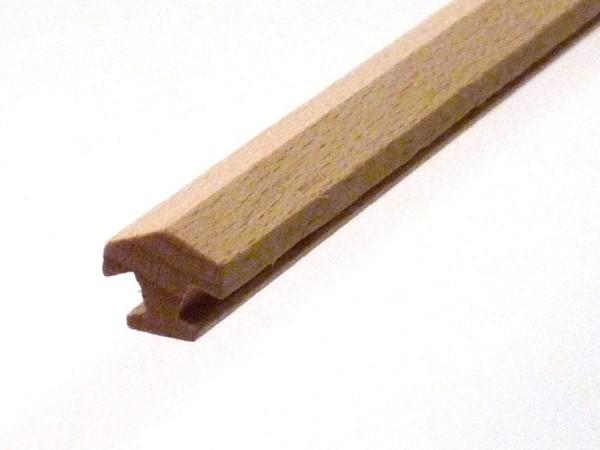 Nutleiste für 8 Ecken aus Buchenholz