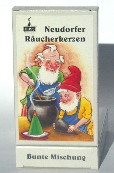 Neudorfer Räucherkerzen - Bunte Mischung